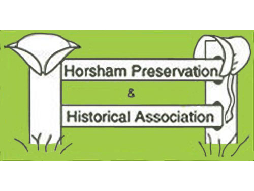 Logo for Horsham Preservation and Historical Association