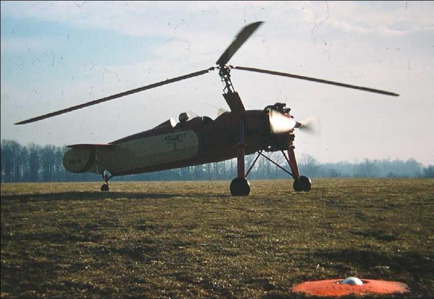 photo of Kellet KC-1A Autogiro at Turner Field